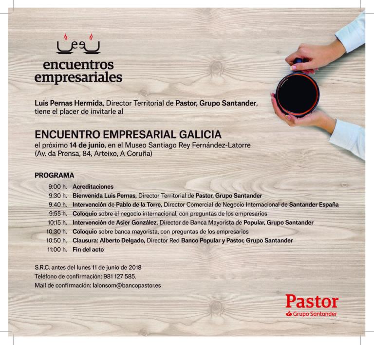 Encuentro empresarial de Galicia